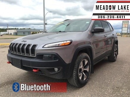 2016 Jeep Cherokee Trailhawk - Bluetooth - $148 B/W SUV