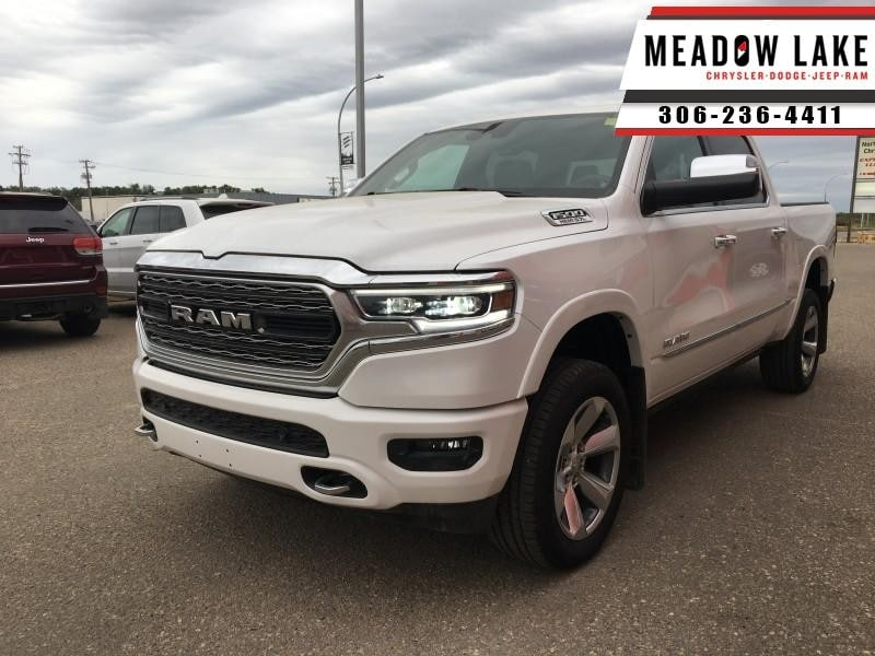 2019 Ram 1500 Limited - Navigation -  Leather Seats - $418 B/W Crew Cab
