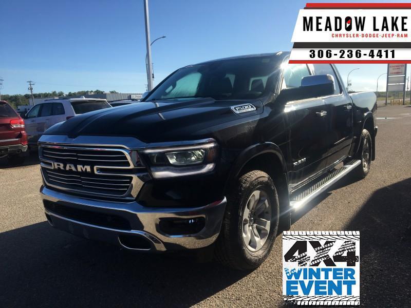 2019 Ram 1500 Laramie - Hemi V8 - Leather Seats - $379 B/W Crew Cab