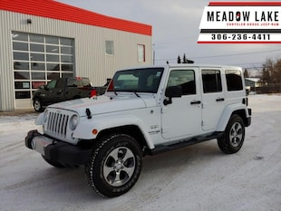 2018 Jeep Wrangler Unlimited Sahara - Bluetooth - $297 B/W SUV