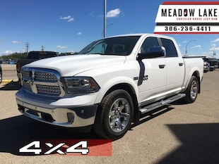 2015 Ram 1500 Laramie - Leather Seats -  Cooled Seats - $268 B/W Crew Cab