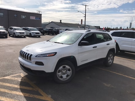 Featured used 2014 Jeep Cherokee Sport SUV for sale in Melfort, SK