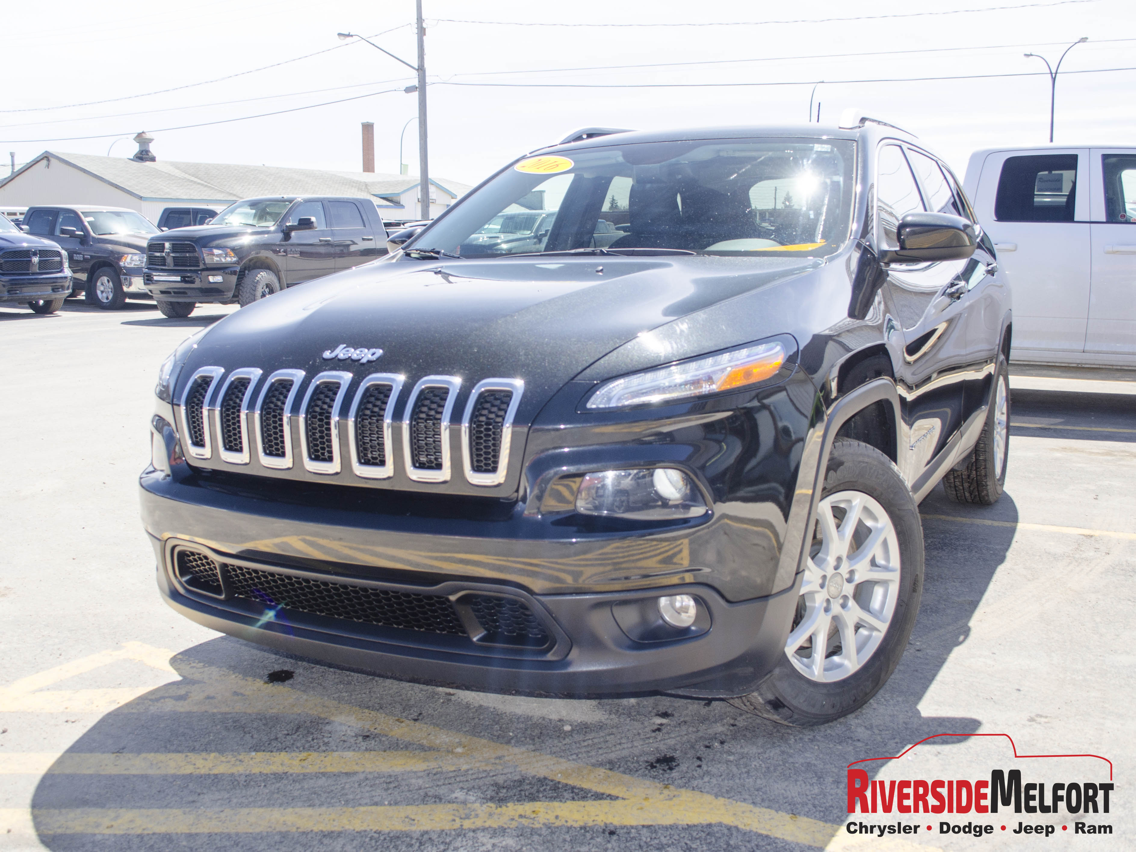 Featured used 2016 Jeep Cherokee North SUV for sale in Melfort, SK