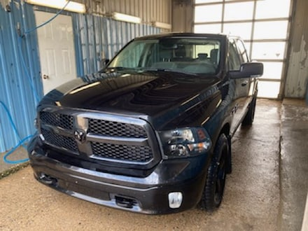Featured used 2018 Ram 1500 SLT Crew Cab for sale in Melfort, SK