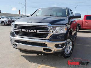 New 2019 Ram 1500 Big Horn Truck Quad Cab for Sale in Melfort, SK