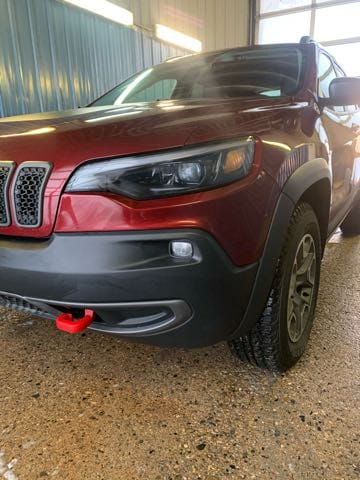 Featured used 2020 Jeep Cherokee Trailhawk SUV for sale in Melfort, SK