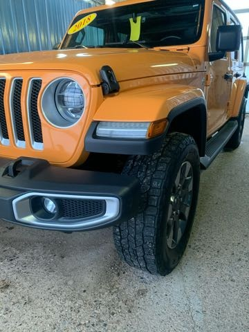 Featured used 2018 Jeep Wrangler Unlimited Sahara SUV for sale in Melfort, SK