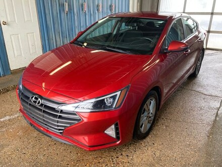 Featured used 2019 Hyundai Elantra Preferred Sedan for sale in Melfort, SK
