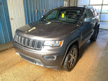 Featured used 2020 Jeep Grand Cherokee Limited 4x4 for sale in Melfort, SK