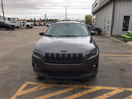 Featured new  2019 Jeep New Cherokee Altitude 4x4 Sport Utility for sale in Melfort, SK