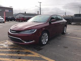 Used 2016 Chrysler 200 Limited Sedan for Sale in Melfort, SK