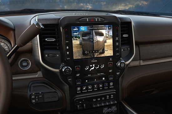 2020 Ram 2500 Steering Wheel and Dash