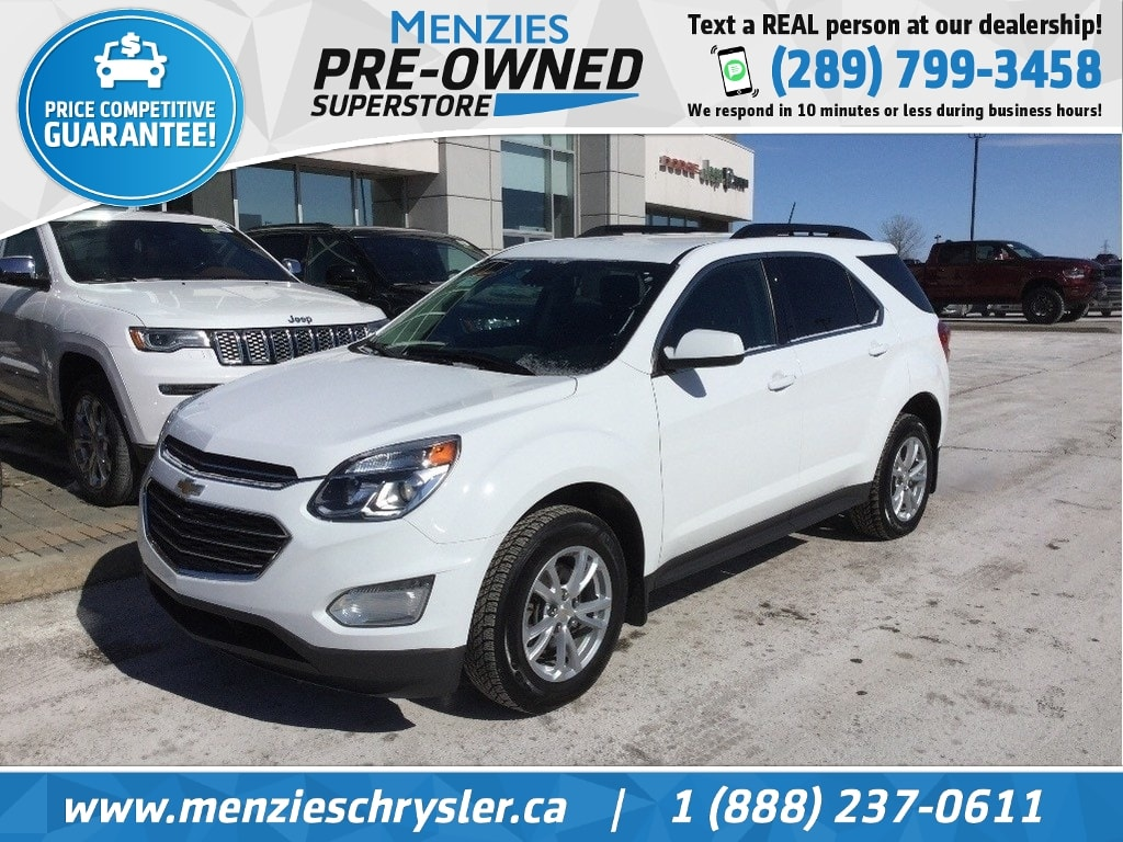 2017 Chevrolet Equinox LT, AWD, Bluetooth, Cam, Alloys, Clean Carfax SUV