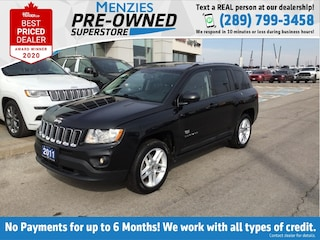 2011 Jeep Compass 70th Anniversary, Sunroof, Leather, Clean Carfax