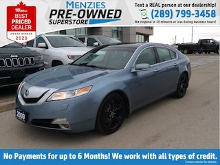 2009 Acura TL w/Navigation Pkg, Leather, Power Sunroof, Cam