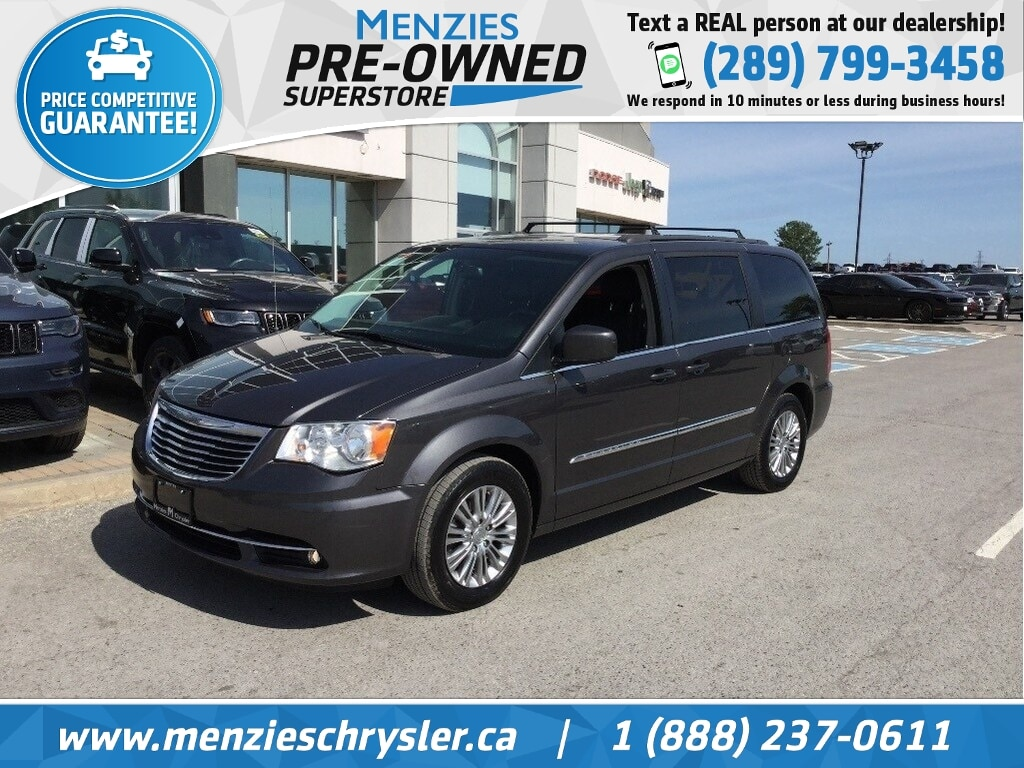 2015 Chrysler Town & Country Touring, Leather, Cam, Pwr Doors Van