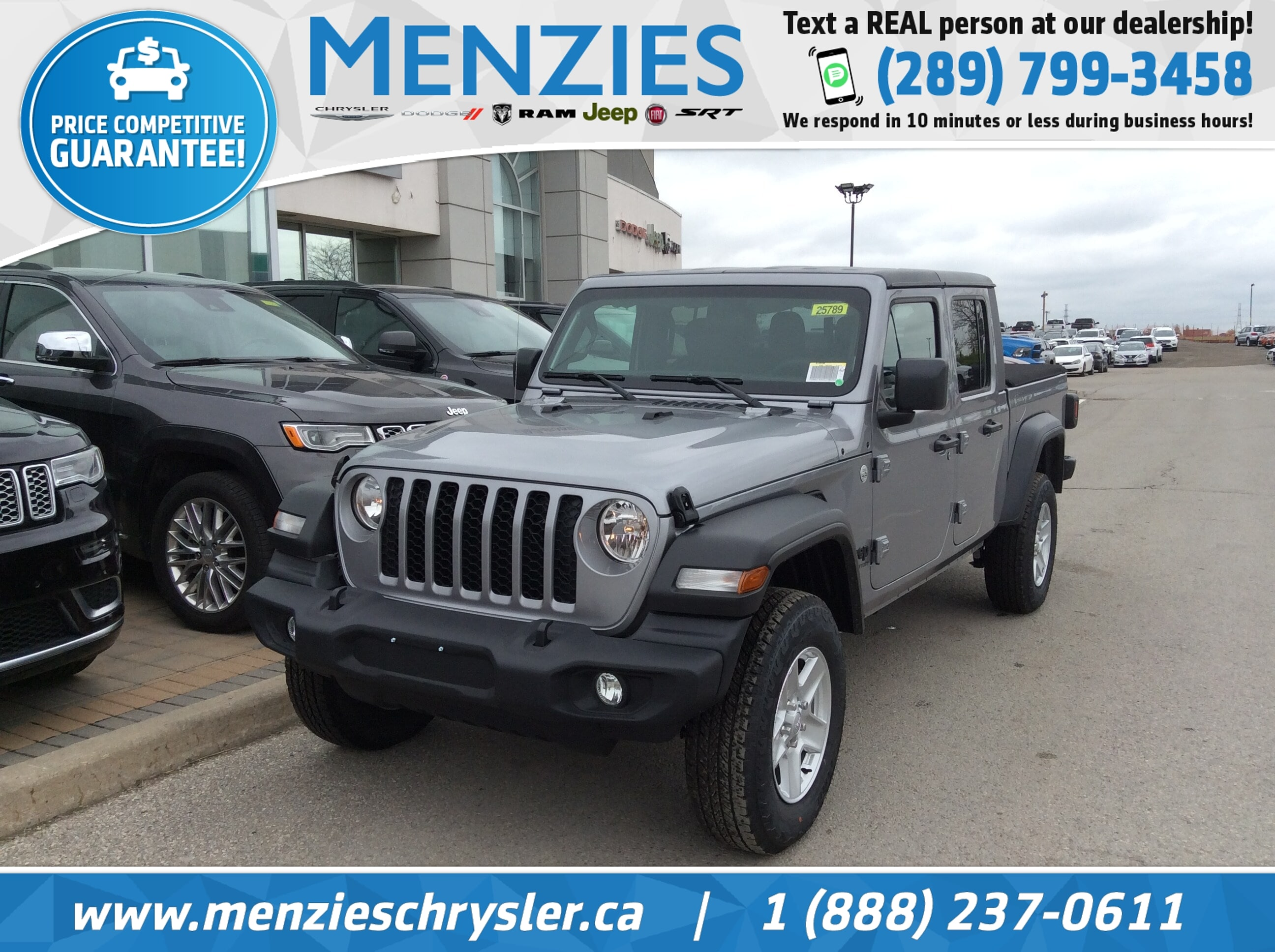 2020 Jeep Gladiator Sport S 4x4 AUTO,TECH GROUP,TRAILER TOW Truck Crew Cab