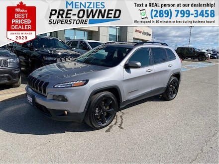 2018 Jeep Cherokee High Altitude 4x4, Sunroof, 1owner, Clean Carfax SUV