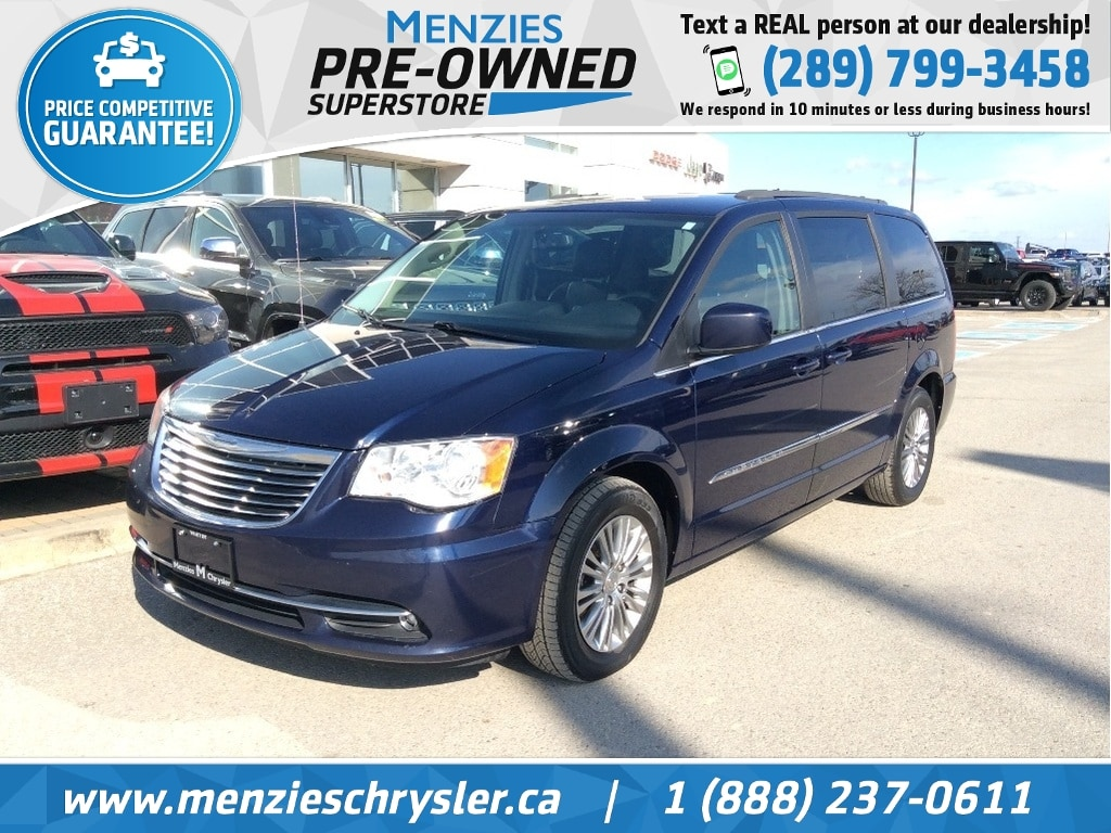 2015 Chrysler Town & Country Touring-Leather, Power Doors, Clean Carfax