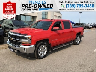2018 Chevrolet Silverado 1500 LT, Bluetooth, Cam, Heated Frt Seats, Clean Carfax Truck