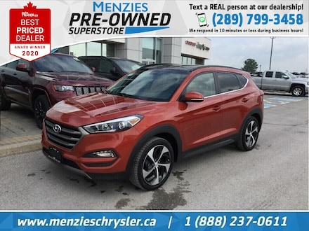 2016 Hyundai Tucson Limited, Pano Roof, Navi, One Owner, Clean Carfax SUV