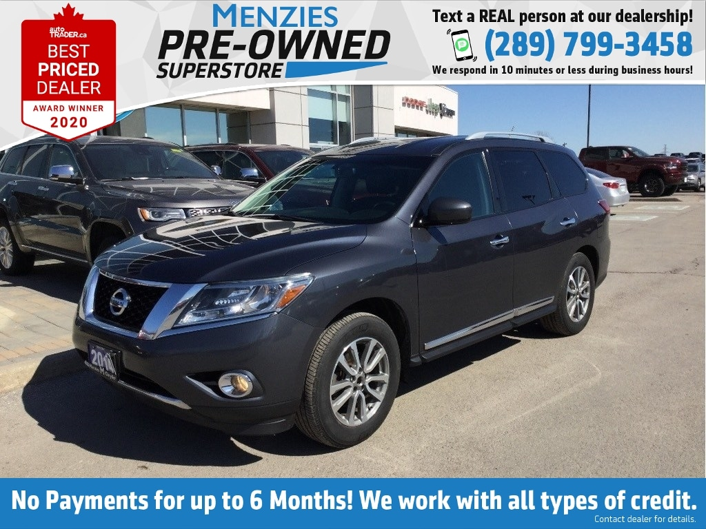 2014 Nissan Pathfinder SL, Bluetooth, ONE OWNER, Clean CarFax, New Tires SUV