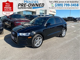 2018 Audi Q3 Komfort, Navigation, Pano, One Owner, Clean Carfax SUV