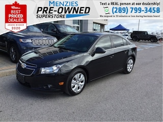 2014 Chevrolet Cruze 1LT, Bluetooth, Backup Cam, Sirius XM, One Owner Sedan