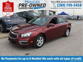 2015 Chevrolet Cruze 2LT, Sunroof, Leather, Bluetooth, One Owner