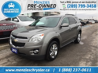 2012 Chevrolet Equinox 2LT, Hands-Free Comm, Sunroof, Heated Front Seats