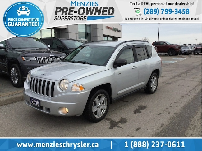 2010 Jeep Compass North Edition 4x4, Alloys, Clean Carfax SUV