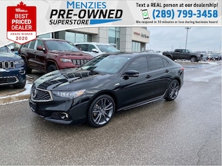 2019 Acura TLX Tech A-Spec AWD, Sunroof, One Owner, Clean Carfax Sedan