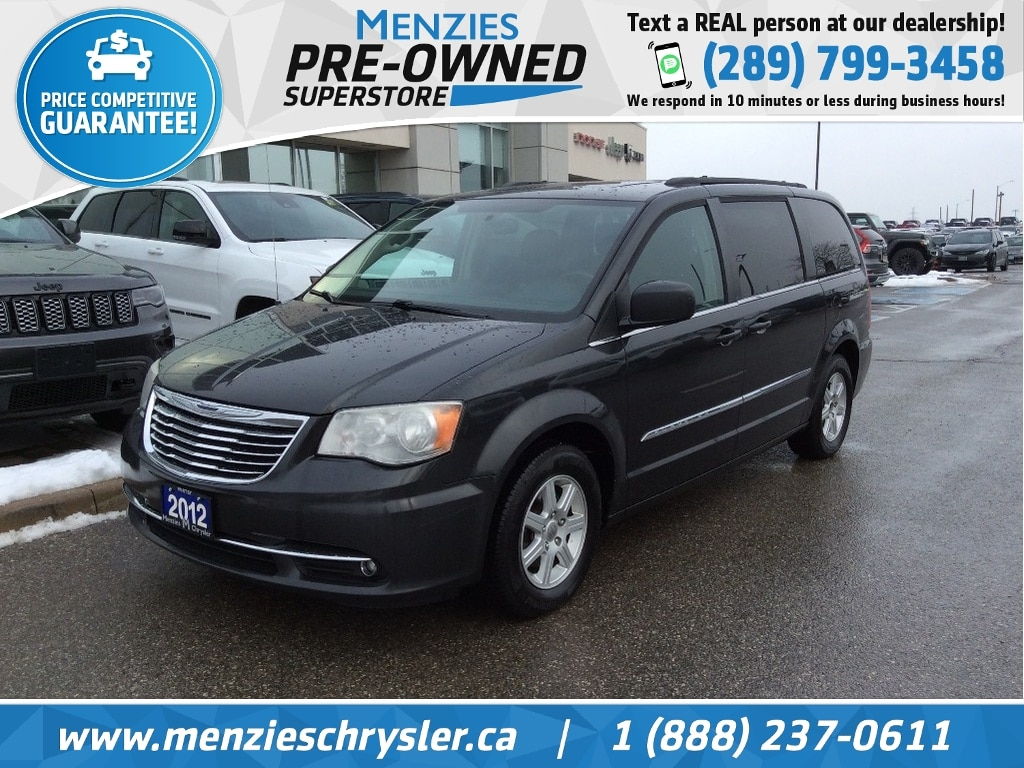 2012 Chrysler Town & Country Touring, Bluetooth, Navigation, DVD, Power Doors