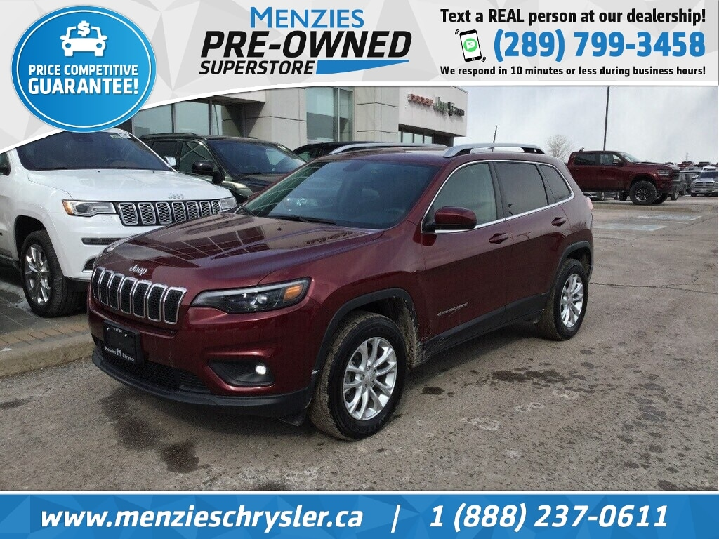 2019 Jeep Cherokee North 4x4, Cam, Bluetooth, ONE Owner, Clean Carfax SUV