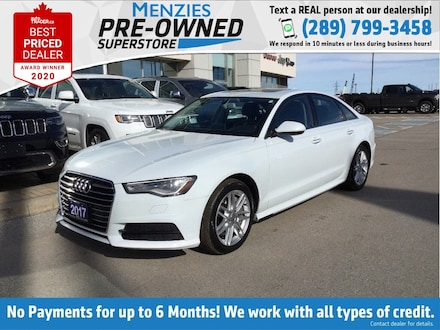 2017 Audi A6 3.0T Progressiv AWD, Navigation, Sunroof, Cam Sedan