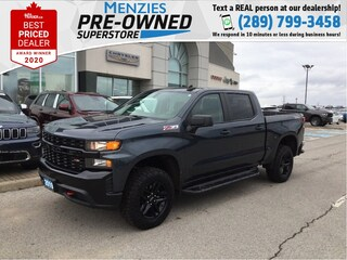 2019 Chevrolet Silverado 1500 Custom Trail Boss Z71, One Owner, Clean Carfax Truck
