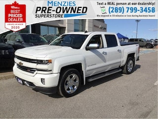 2018 Chevrolet Silverado 1500 LTZ 4x4, Navigation, Leather, Sunroof, Clean Carfx Truck