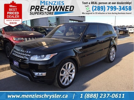 2017 Land Rover Range Rover Sport Td6 HSE, Pano Roof, One Owner, Clean Carfax SUV