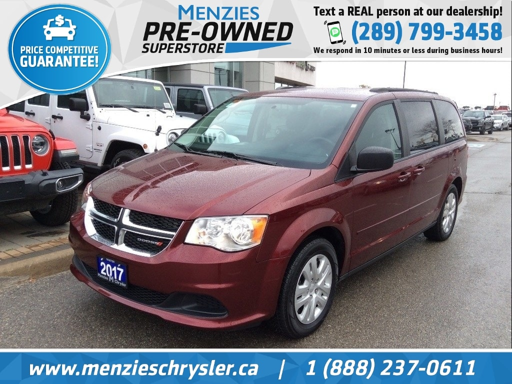 2017 Dodge Grand Caravan SXT, Full STO N Go, ONE Owner, Clean Carfax