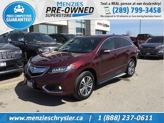 2017 Acura RDX Elite Pkg AWD, Navi, ONE Owner, Clean Carfax SUV