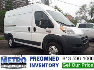 2018 Ram Promaster 2500 High Roof - LOW KMs Cargo