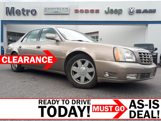 2004 CADILLAC DEVILLE - Great Condition