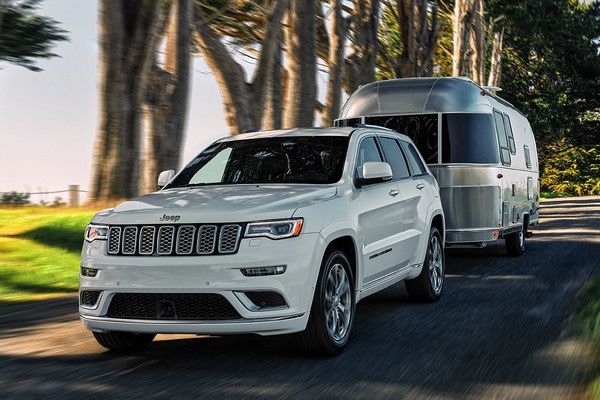 2021 Jeep Grand Cherokee Towing RV