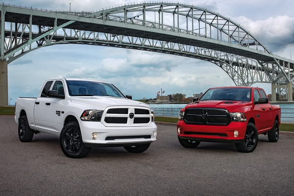 2020 RAM 1500 In Red and White