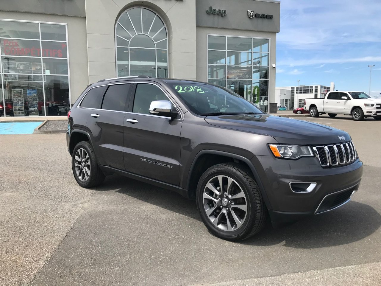 2018 Jeep Grand Cherokee Limited VUS