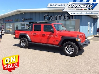 2020 Jeep Gladiator Sport S Upgraded Rims AND Rubber! $324 B/W Truck Crew Cab