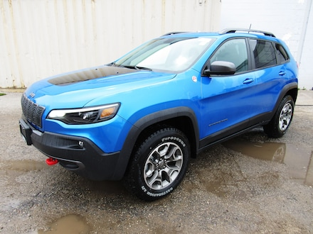 2020 Jeep Cherokee Trailhawk SUV for sale in Midland, ON