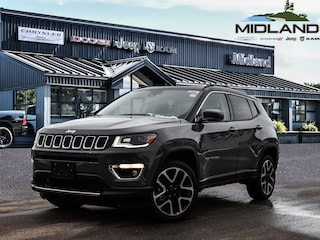 2021 Jeep Compass Limited 4x4 for sale in Midland, ON