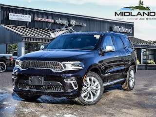 2021 Dodge Durango Citadel Anodized Platinum All-wheel Drive for sale in Midland, ON