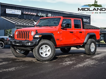 2020 Jeep Gladiator Sport S Truck Crew Cab for sale in Midland, ON